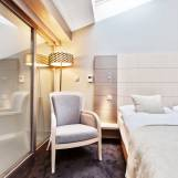 Mezonet s krbom, 4-lôžkový apartmán s balkónom - Hotel PARTIZÁN