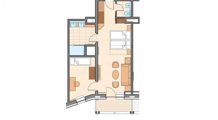Apartmán Chopok pre rodiny s deťmi - Hotel PARTIZÁN