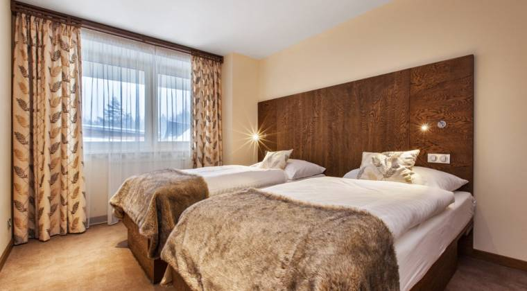 Apartmán Komfort s dvomi prístelkami - Hotel PARTIZÁN