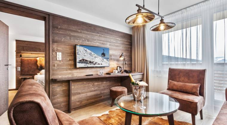 Apartmán de Luxe v duchu les v hoteli - Hotel PARTIZÁN