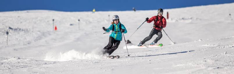 Jarná lyžovačka v Nízkych Tatrách